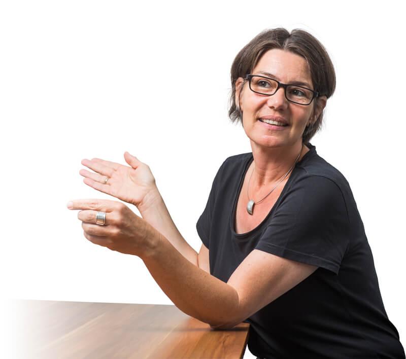 Christiane Hillebrand berät Angehörigen und Pflegende in Osnabrück und Umgebung