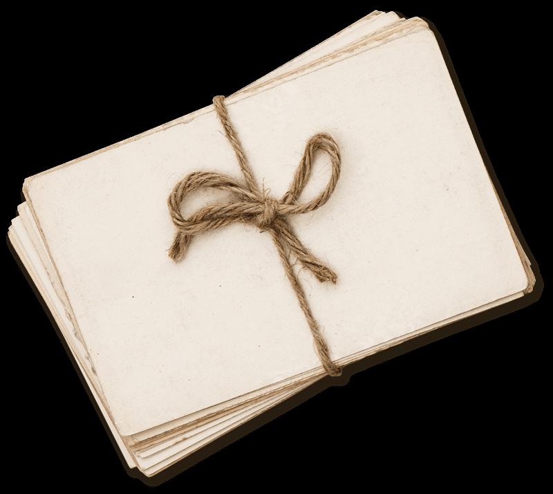 Demenz – Christiane Hillebrand – Briefstapel